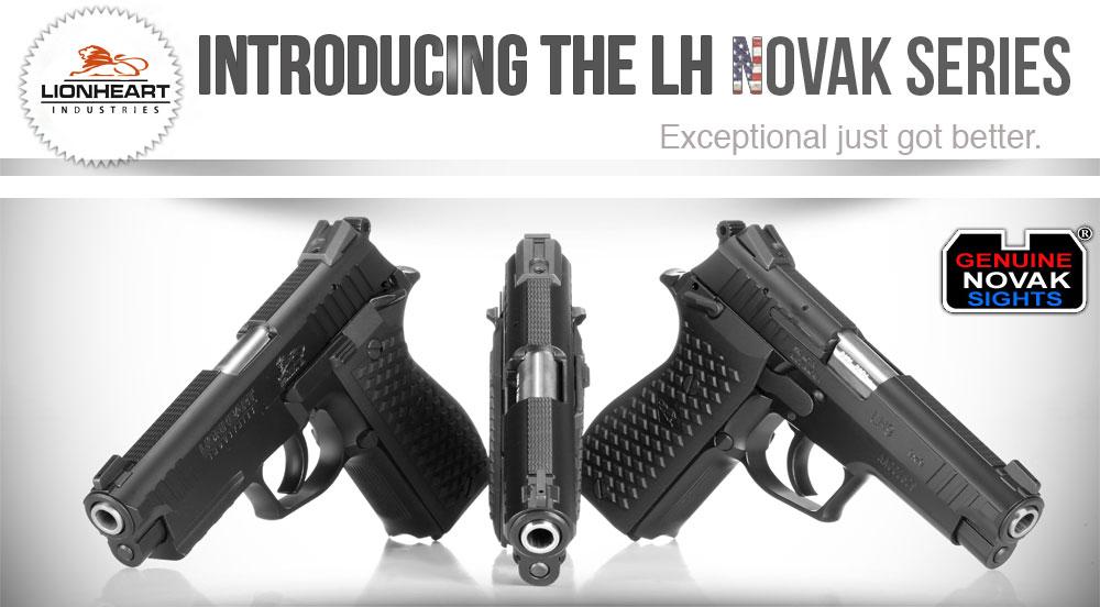 Novak LH Series Pistols